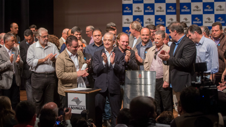 Estado de São Paulo firma convênios com cidades da região de Bauru