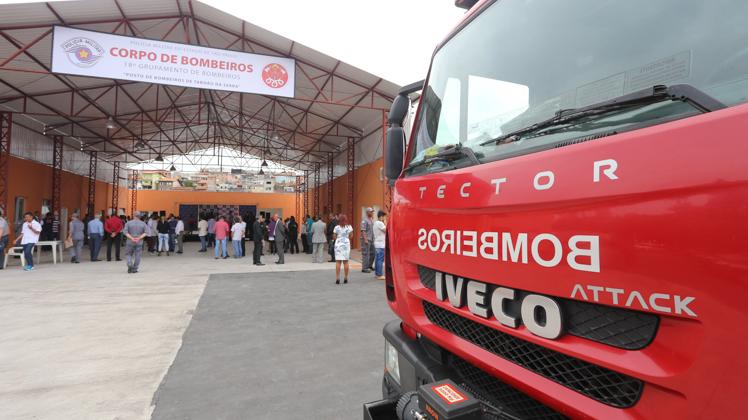 Taboão da Serra ganha novo Posto do Corpo de Bombeiros