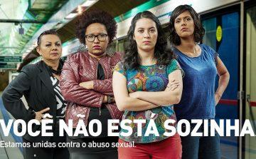 Campanha orienta sobre abuso sexual no transporte público