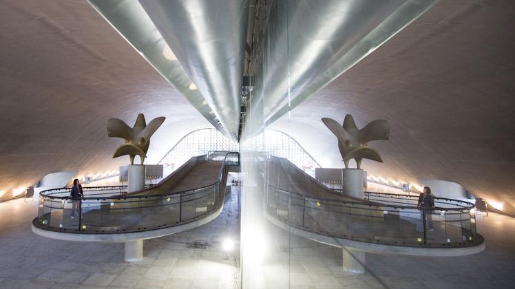 Restauro do Auditório Simón Bolívar está com 93% das obras concluídas