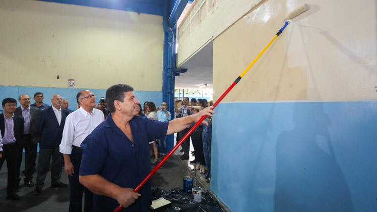 Governo investe R$ 52 milhões para conservar e reformar as escolas estaduais