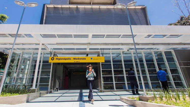 Metrô inaugura a Estação Higienópolis-Mackenzie da Linha 4-Amarela
