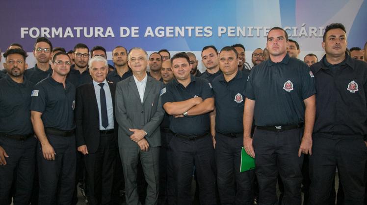 Presídios do Estado de São Paulo recebem o reforço de 621 agentes