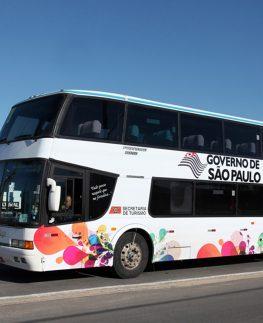 Roteiros para conhecer de ônibus diversas regiões do Estado