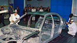 A indústria automobilística