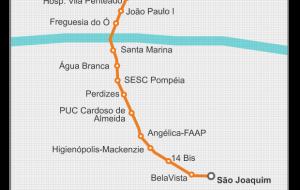 Governo de São Paulo escolhe padrão de PPP da Linha 6-Laranja do Metrô