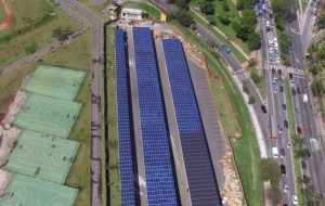 Villa-Lobos é o primeiro parque do Brasil abastecido por energia solar