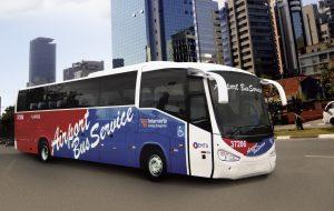 EMTU: ônibus com ar condicionado vai ao aeroporto de Guarulhos