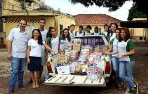 Etecs e Fatecs fazem trote solidário e ajudam comunidades locais