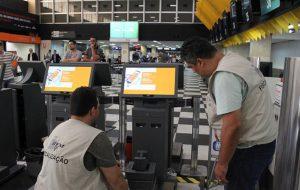 Operação especial do IPEM-SP reprova balanças em aeroportos de SP