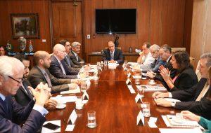 Agenda: Delegação dos Emirados Árabes Unidos