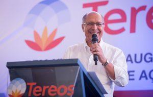 Alckmin participa de inauguração de armazém de açúcar em Tanabi