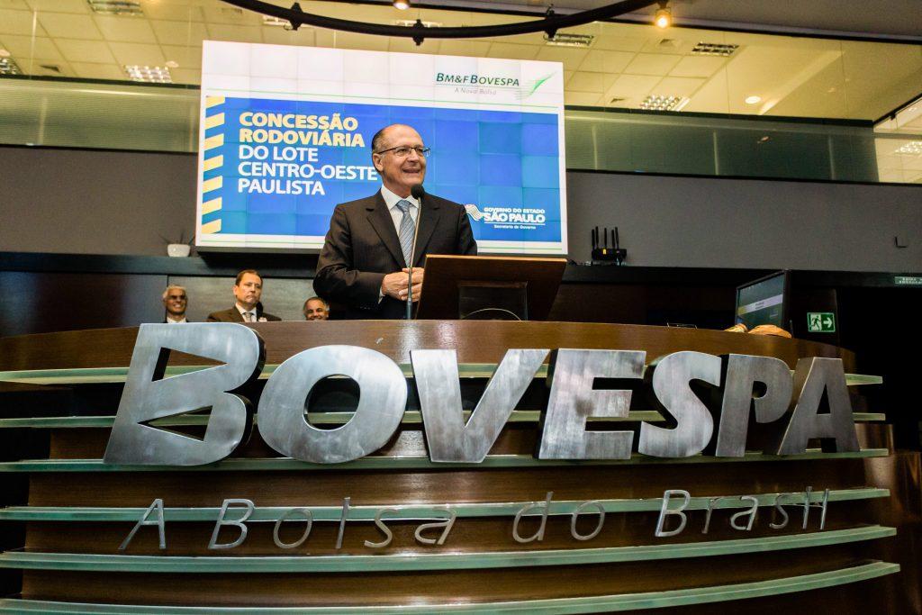 Resultado de imagem para alckmin leilão bovespa