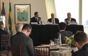 Em Nova York, Alckmin fala sobre as oportunidades de negócios em SP