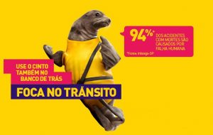 Campanha #FocaNoTrânsito mira em motoristas desatentos
