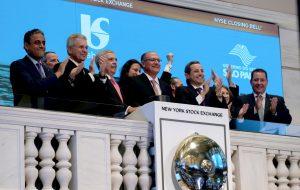 Em Nova York, Alckmin anuncia capitalização da Sabesp