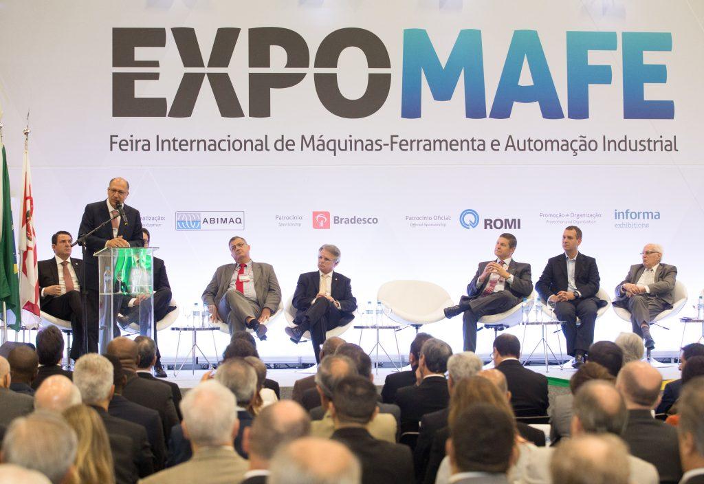 Resultado de imagem para EXPOMAFE – Feira Internacional de Máquinas-Ferramenta e Automação Industrial