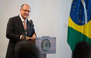 """Alckmin: """"Quero transmitir ao povo uma palavra de confiança"""""""