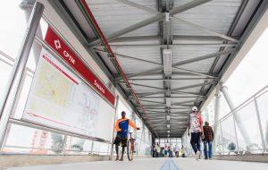 Aproveite o domingo para levar sua bike no Metrô e CPTM