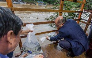Rio Sorocaba recebe 10 mil alevinos no Dia Mundial do Meio Ambiente