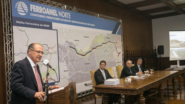 Estudo ambiental do Ferroanel Norte é liberado para consulta pública