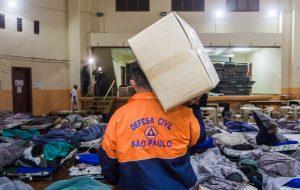 Defesa Civil estadual irá enviar ajuda para duas cidades da RMSP