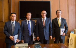 Em reunião, SP e Bank of China discutem ampliação de investimentos