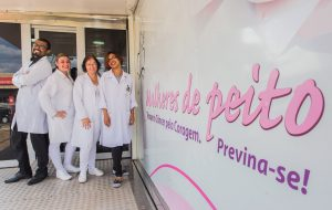 Carreta-móvel do Mulheres do Peito chega a Taiaçu, na região de Barretos