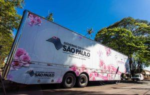 """Carretas de mamografia percorrem litoral de SP durante """"Verão + Seguro"""""""