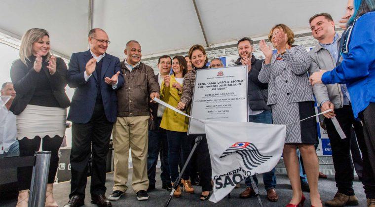 Alckmin inaugura nova unidade do programa Creche Escola em Taubaté
