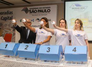 Capital paulista terá sorteio de mais 961 apartamentos