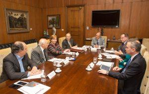Governador reúne membros do Conselho de Relações Internacionais