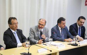 Em Brasília, Alckmin defende políticas de infraestrutura no agronegócio