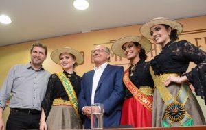 Alckmin visita 40ª edição da Expointer em Esteio, no RS