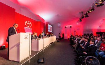 Na fábrica da Toyota, Alckmin destaca geração de emprego