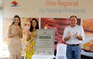 Presidente do Fundo Social inaugura mais dois Polos Regionais da Padaria Artesanal
