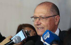 Alckmin propõe Agência de Inteligência em reunião com Temer