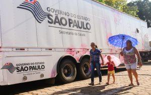 Mulheres de Peito: carreta permanece na cidade de Pracinha até dia 19