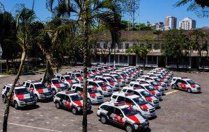 Baixada Santista e Vale do Ribeira recebem 57 novas viaturas policiais