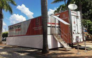 Poupatempo Móvel fica em Embu Guaçu até sábado (9)