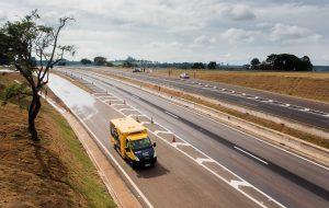 Entrega de obras na SP-345 beneficia municípios da região de Franca