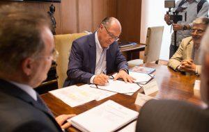 Alckmin sanciona PL que beneficia projeto esportivo e social de Bauru
