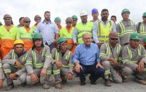 Obras de prolongamento da Carvalho Pinto estão 80% concluídas