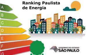 Governo estadual lança Ranking Paulista de Energia