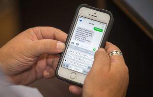 Já se cadastrou para receber SMS sobre riscos de desastre?
