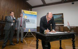 Alckmin anuncia parceria com mais 36 municípios para ações pela segurança no trânsito
