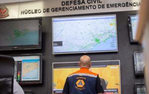 Defesa Civil Estadual emitirá alertas climáticos via TV por assinatura
