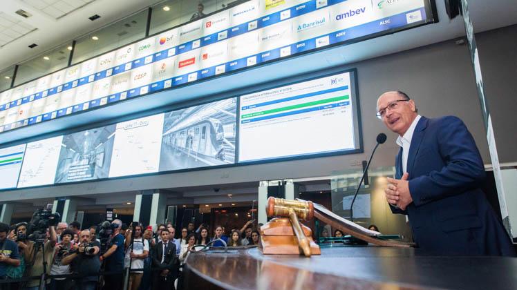 Leilão de concessão das linhas 5 e 17 do Metrô consegue 185% de ágio