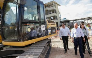 Moderna estação de trem começa a ser construída em Francisco Morato