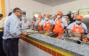 Conversa com governador destaca novo Bom Prato Barretos